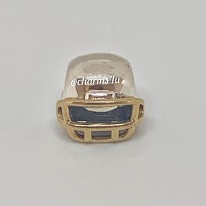 Authentic PANDORA Football Helmet Charm